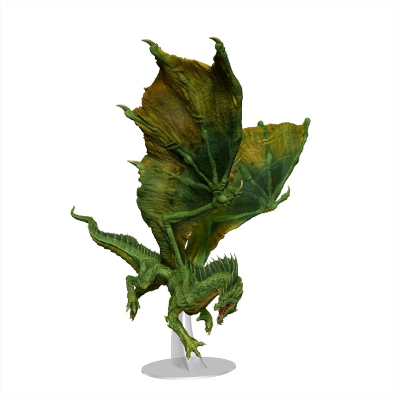 Dungeons & Dragons - Icons of the Realms Adult Green Dragon Premium Figure | Games