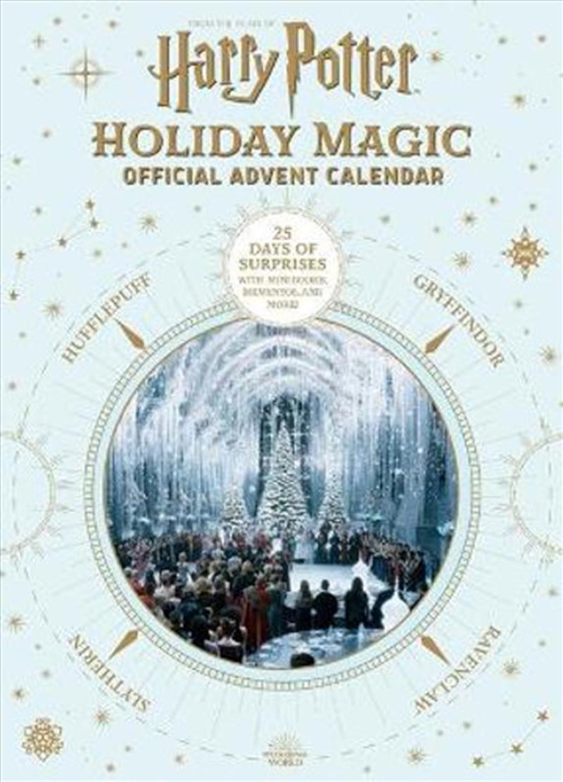 Harry Potter - Holiday Magic - Official Advent Calendar   Hardback Book