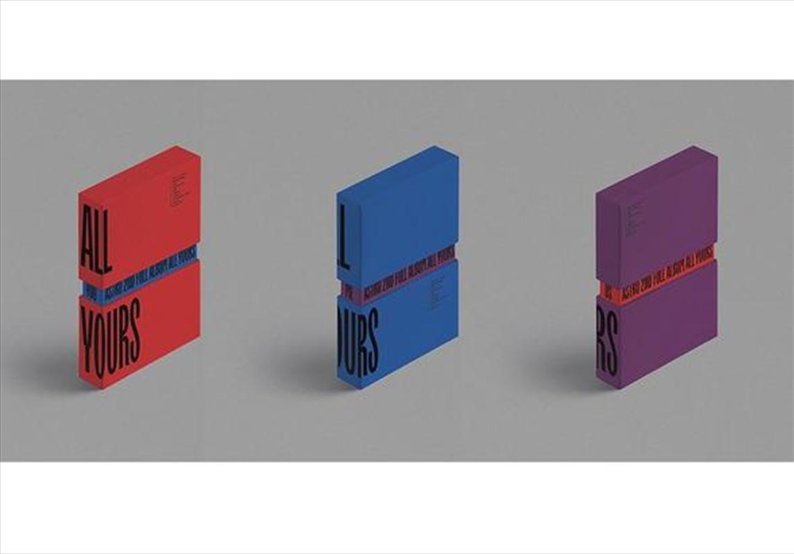 All Yours - 2nd Full Album (RANDOM COVER) | CD