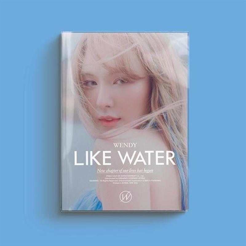 Like Water - Photo Book Version   CD