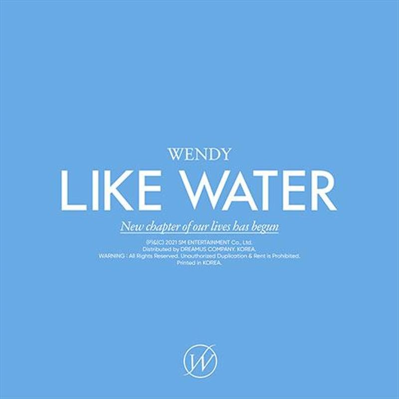 Like Water - Jewel Case Version | CD