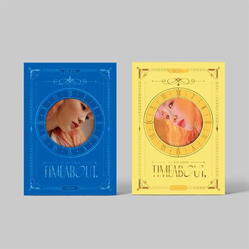 Timeabout -1st Mini Album (RANDOM COVER) | CD