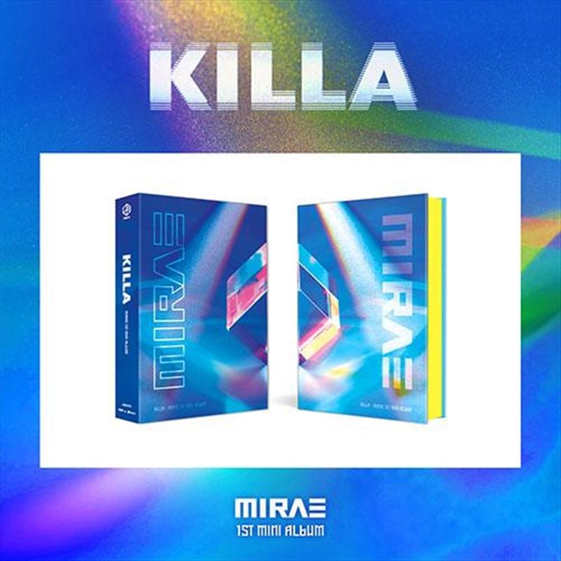 Killa - 1st Mini Album (RANDOM COVER) | CD