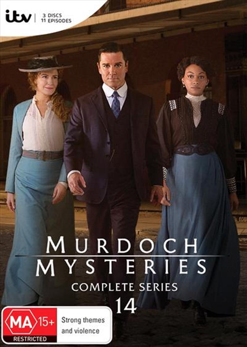 Murdoch Mysteries - Series 14 | DVD
