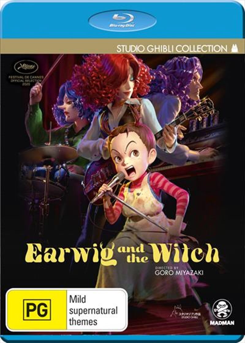 Earwig And The Witch | Blu-ray