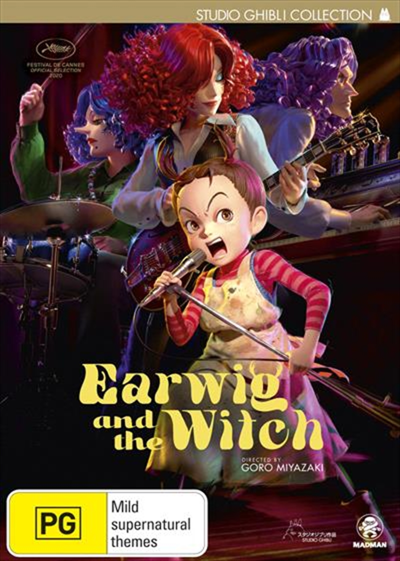 Earwig And The Witch | DVD
