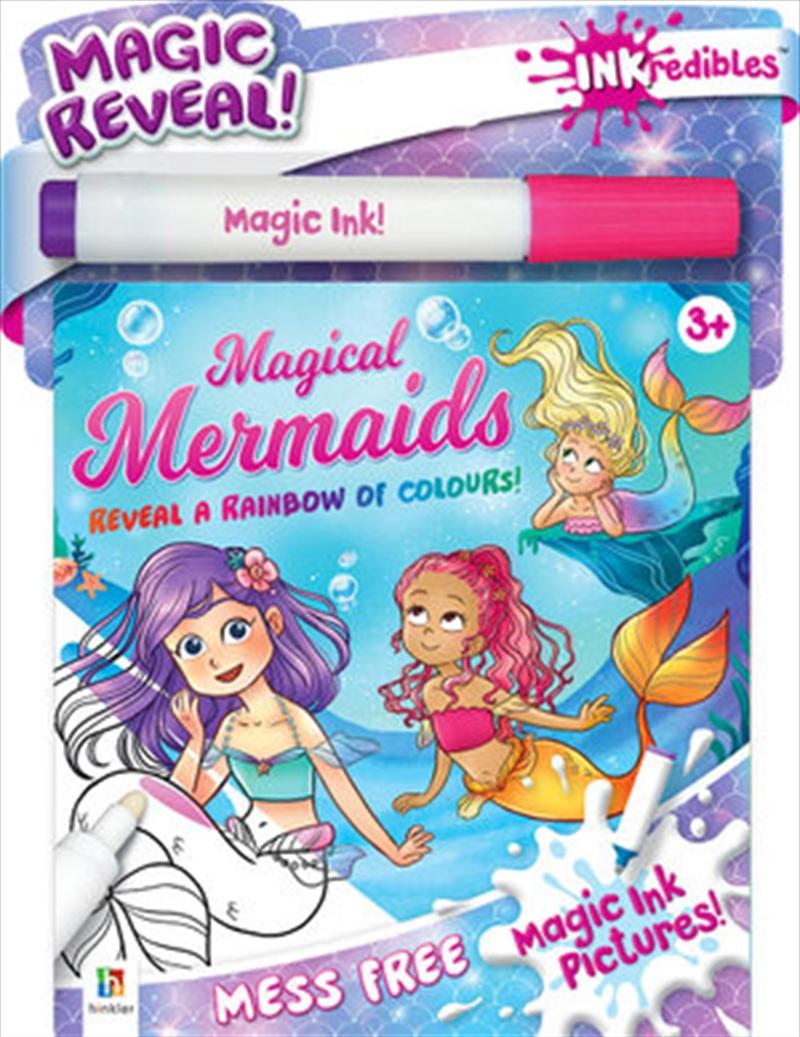 Inkredibles Magic Ink Pictures: Magical Mermaids | Paperback Book