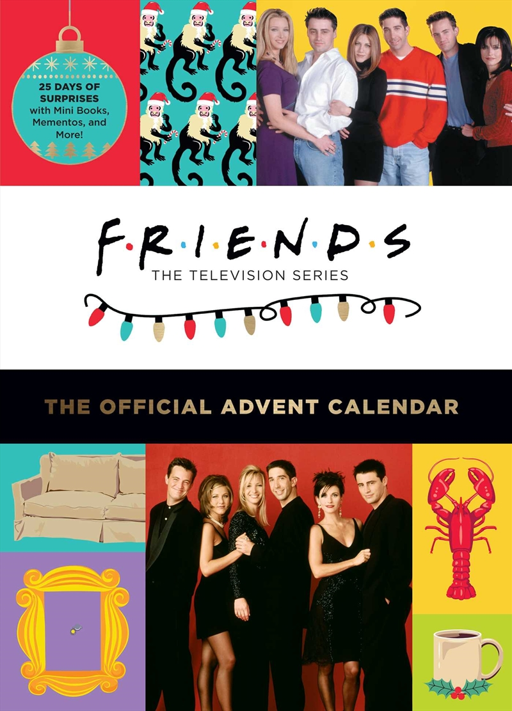 Friends - The Official Advent Calendar (2021 Edition) | Hardback Book