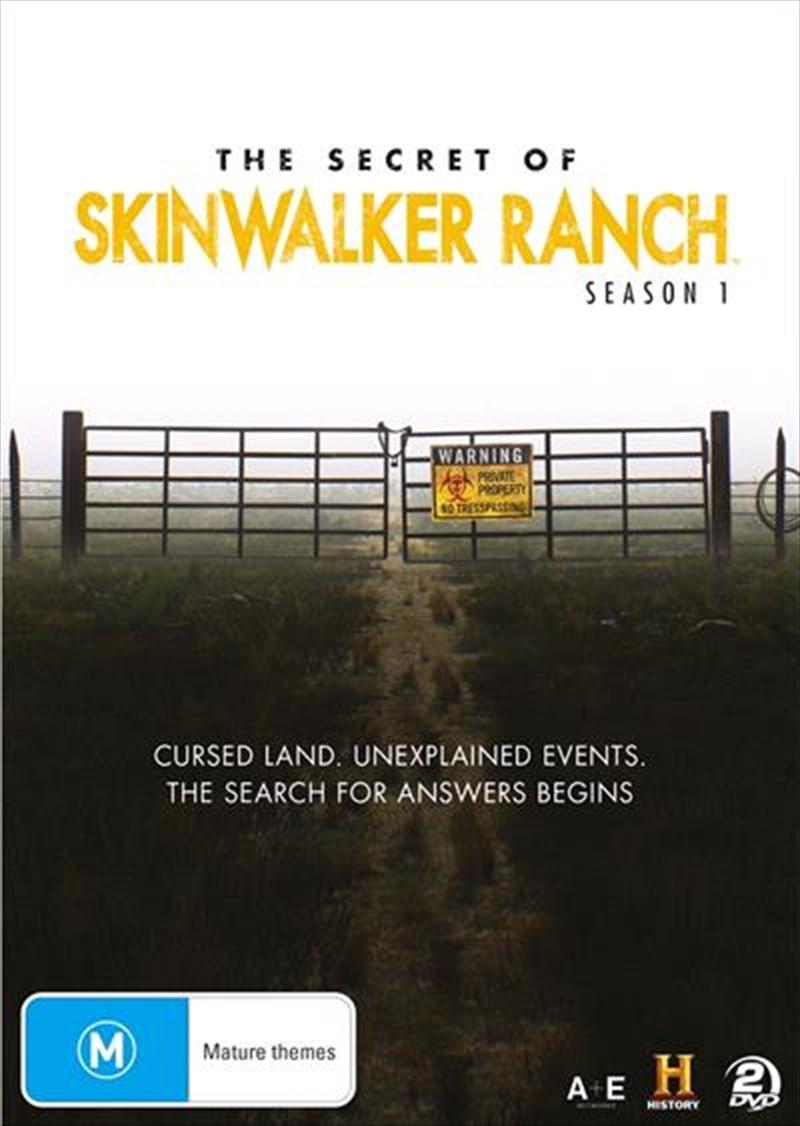 Secret Of Skinwalker Ranch - Season 1, The | DVD