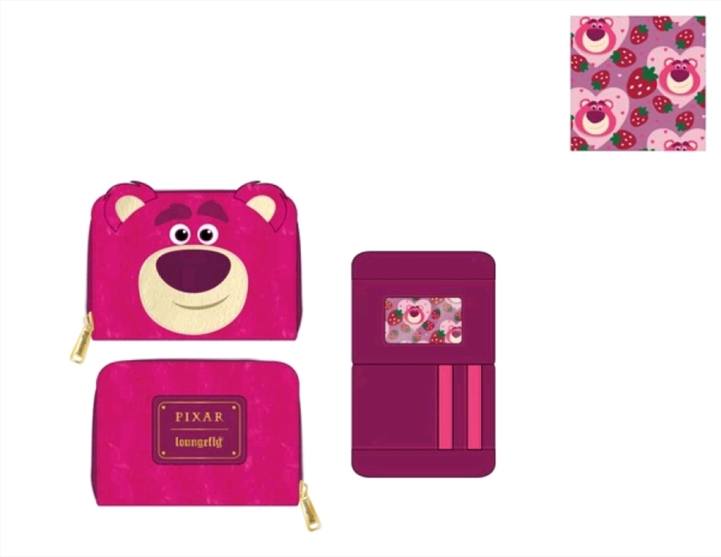 Loungefly - Toy Story - Lotso Zip Purse | Apparel