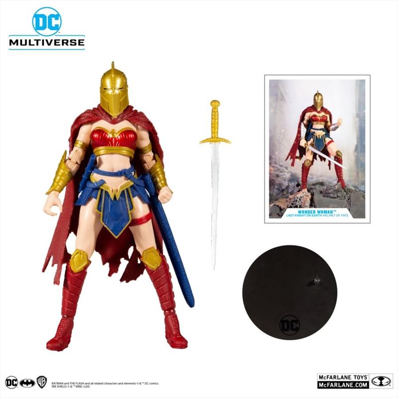 "Wonder Woman - Last Knight on Earth 7"" Action Figure   Merchandise"