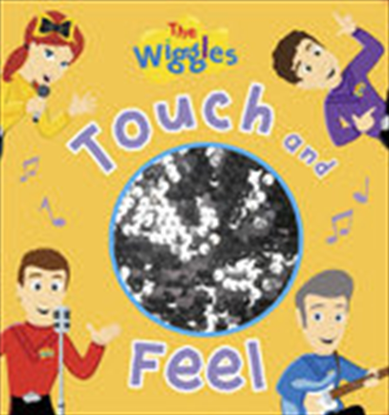 Touch And Feel Instruments - Wiggles | Board Book