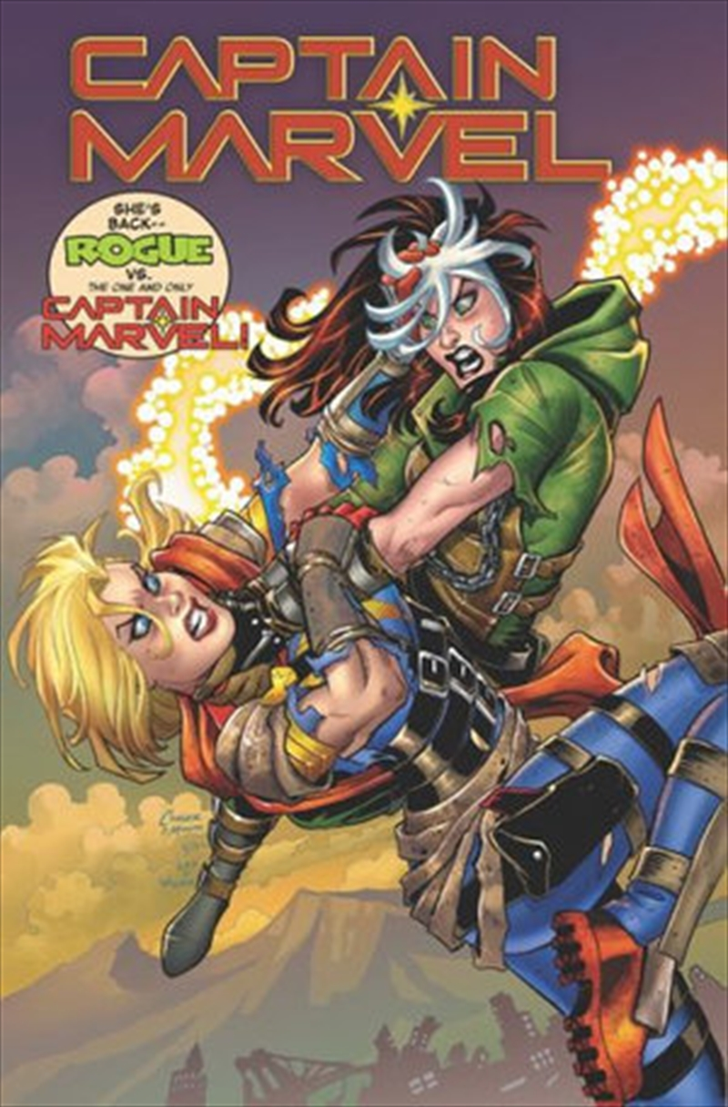 Captain Marvel Vs Rogue | Paperback Book