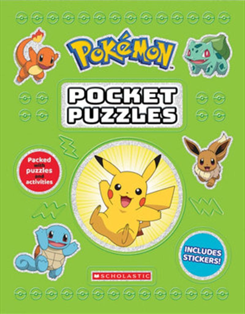 Pokémon Pocket Puzzles   Paperback Book