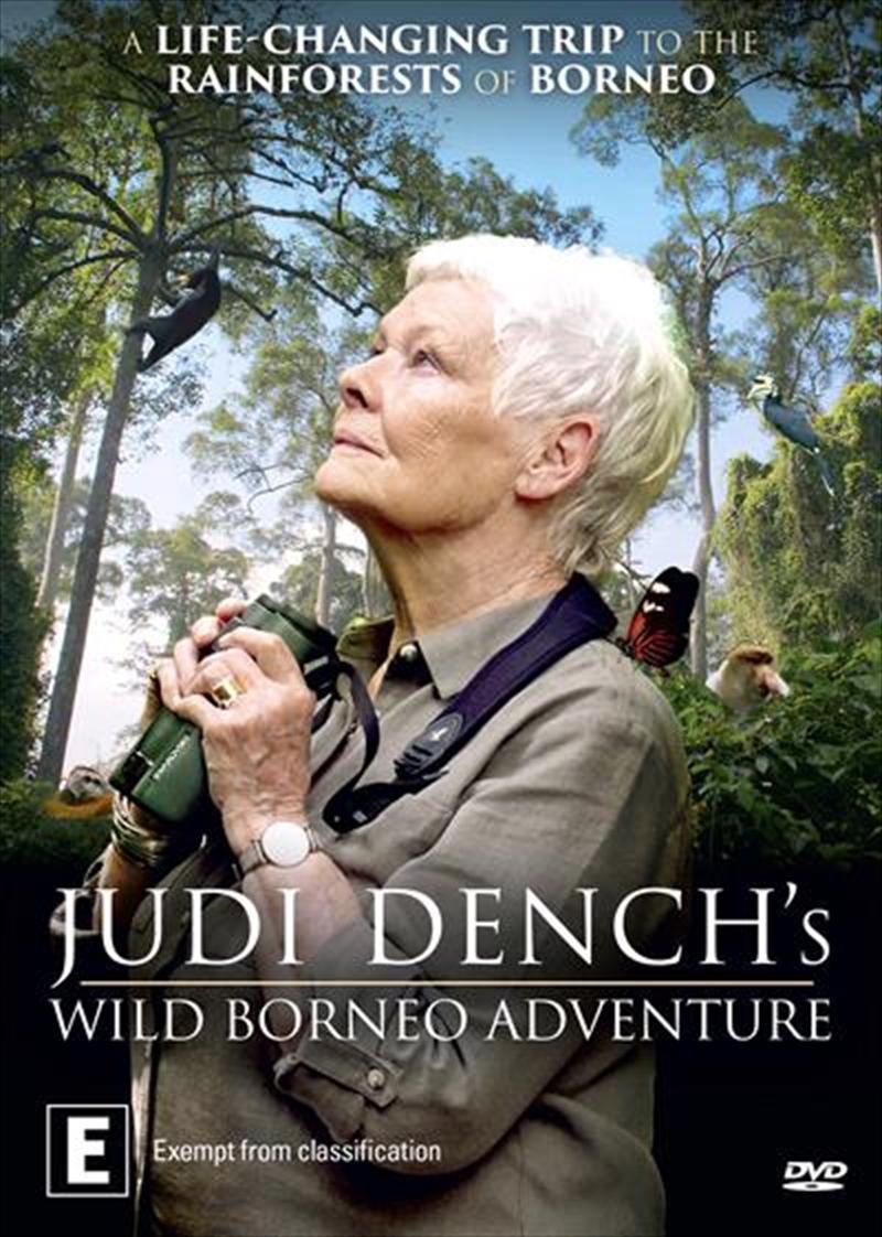Judi Dench's Wild Borneo Adventure   DVD