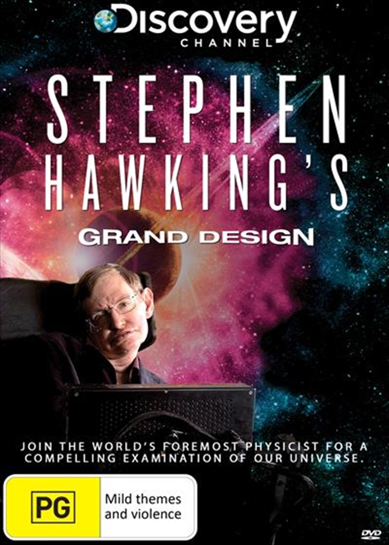 Stephen Hawking's Grand Design   DVD