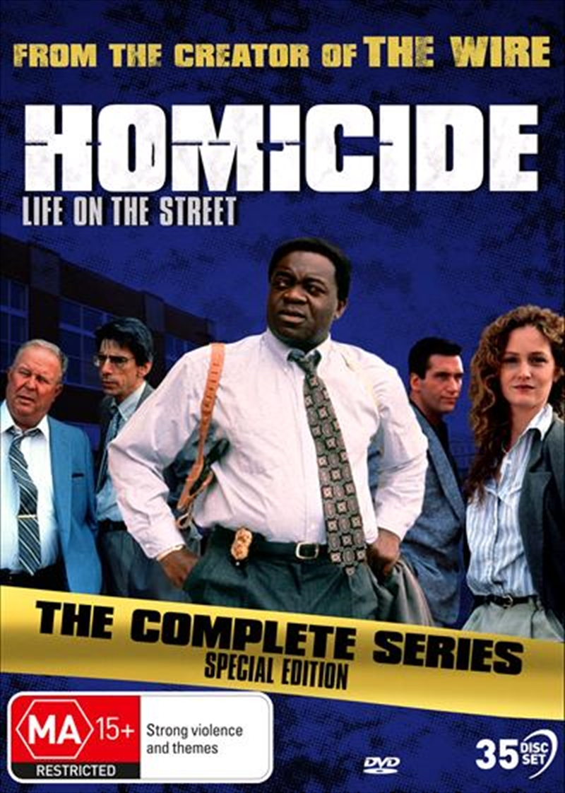 Homicide - Life On The Street | Complete Series | DVD