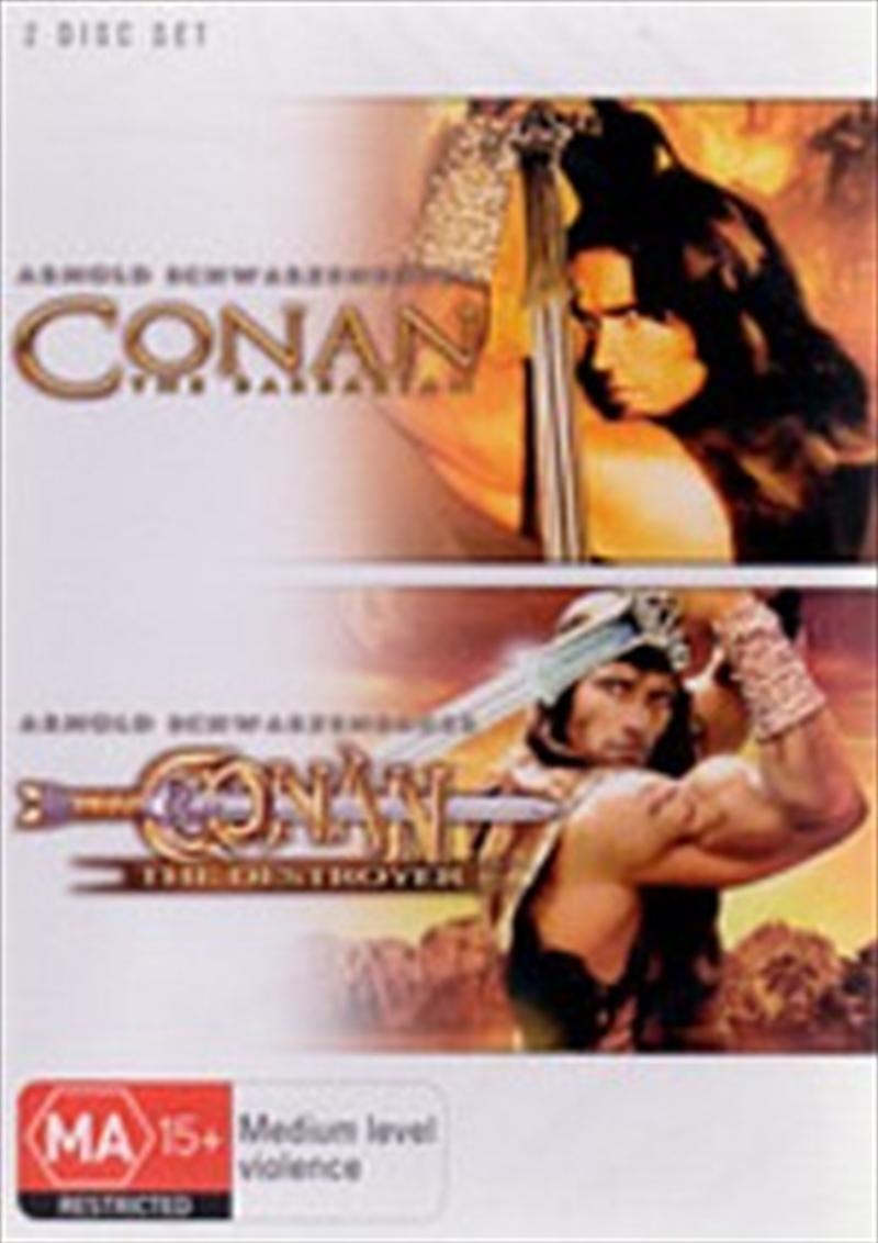 Conan The Barbarian / Conan The Destroyer | DVD