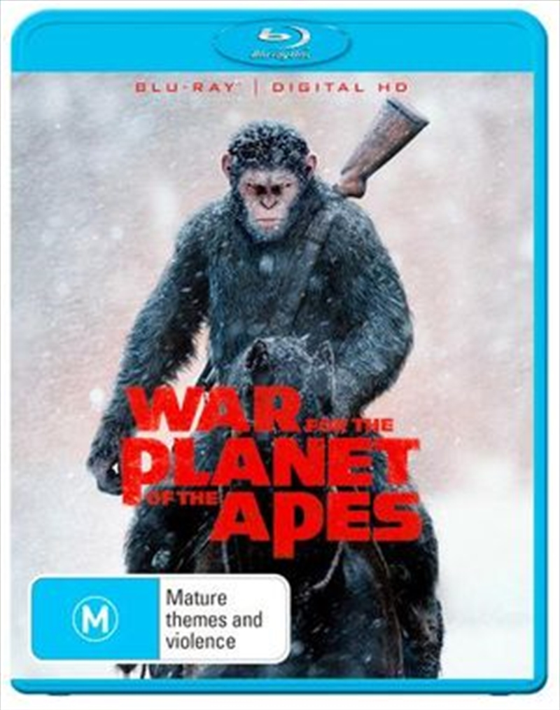 War For The Planet Of The Apes | Blu-ray