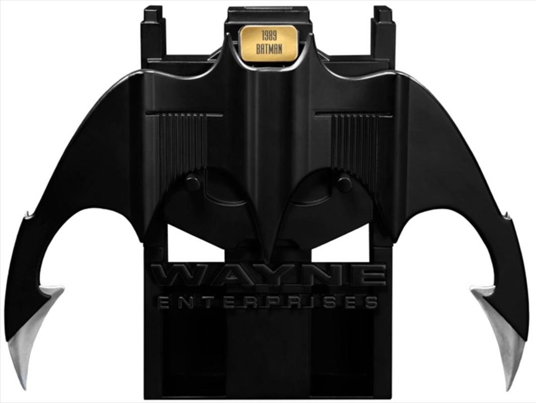 Batman 1989 - Batarang Metal Replica   Collectable