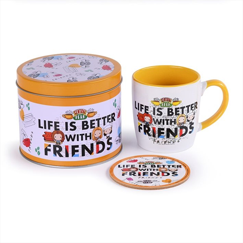 Life Is Better With Friends Gift Pack | Merchandise