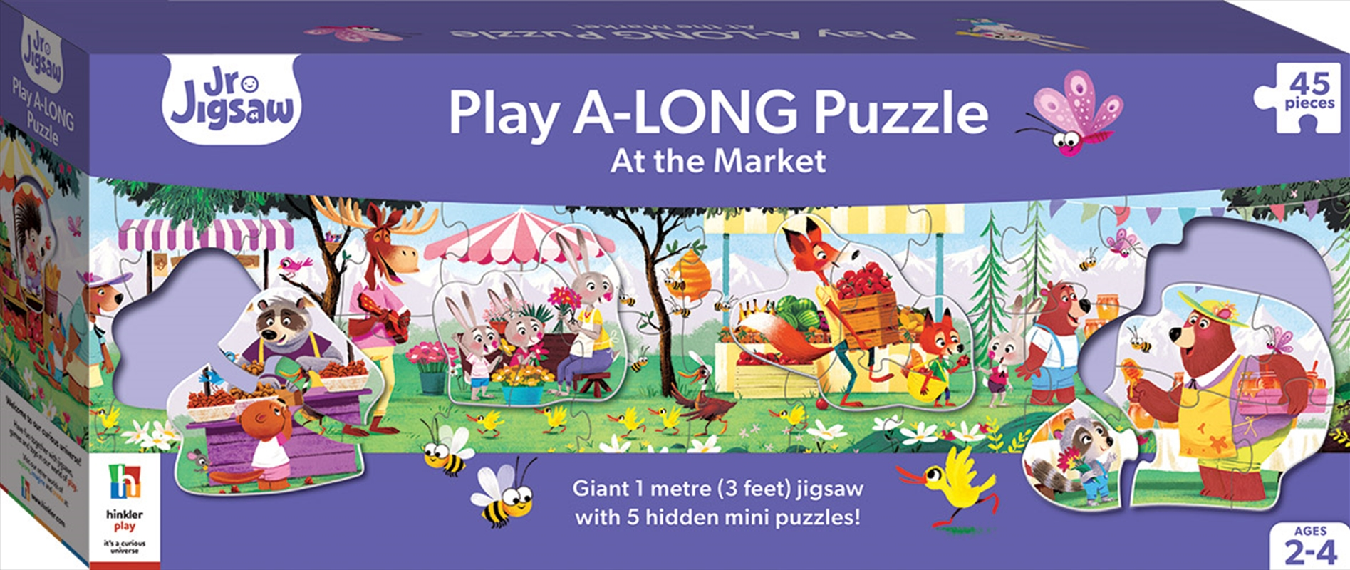 Play A-Long Jigsaw Puzzle - At the Market | Merchandise