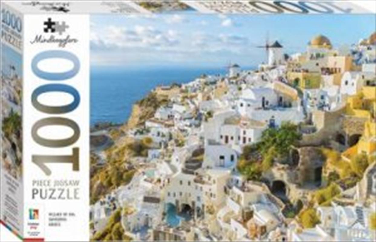Santorini Greece 1000 Piece Puzzle | Merchandise
