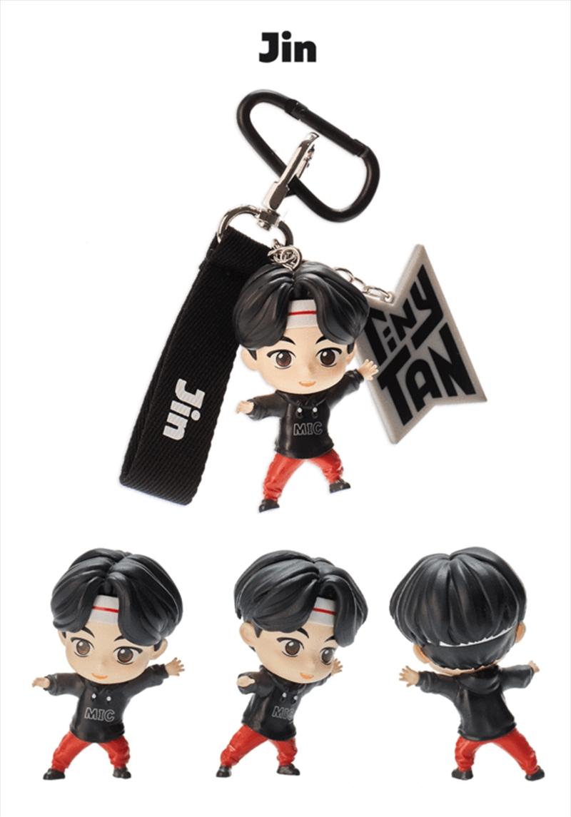 BTS Tinytan Figure Keyring - Jin | Accessories