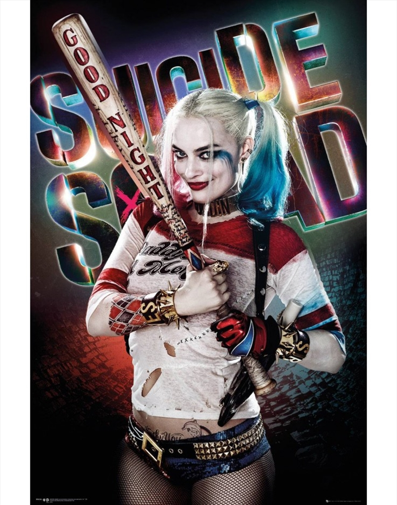 Suicide Squad Harley Quinn Poster   Merchandise