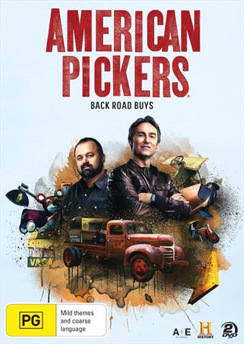 American Pickers - Back Road Buys   DVD