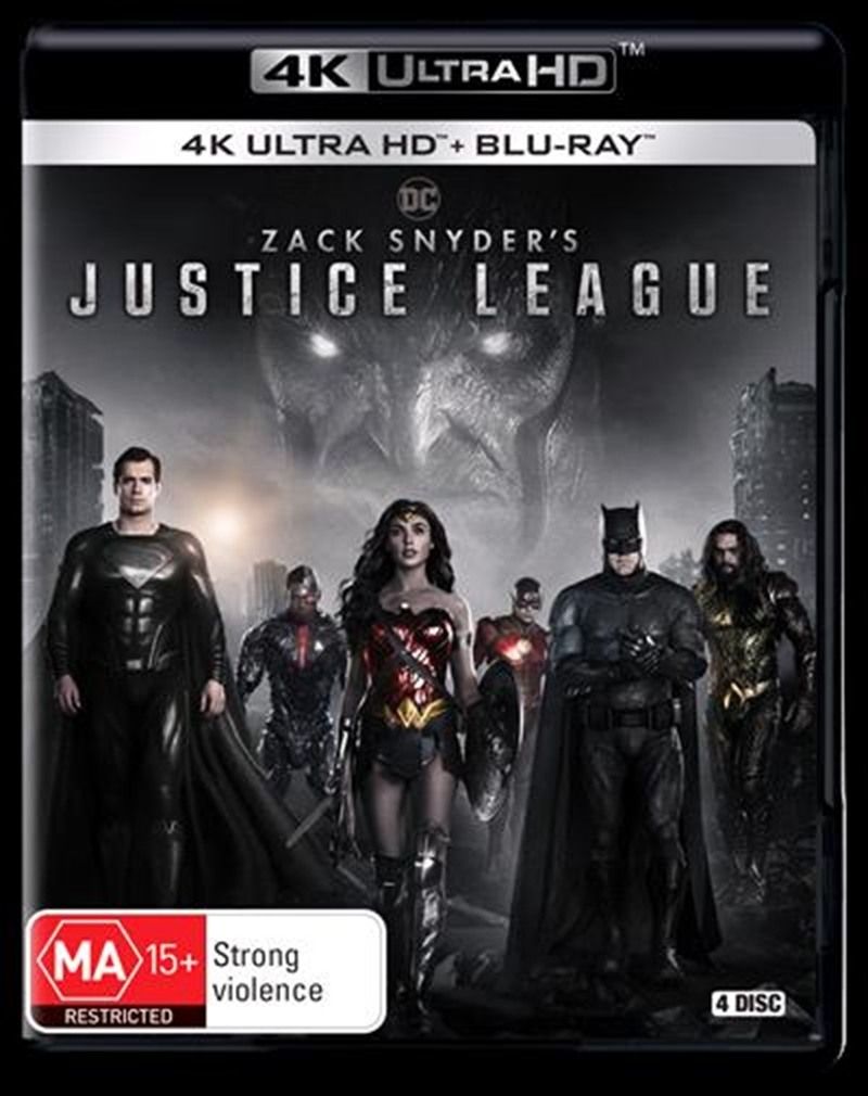 Zack Snyder's Justice League | Blu-ray + UHD | UHD