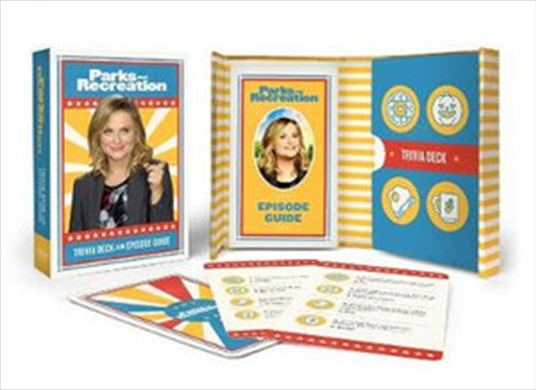 Parks And Recreation: Trivia Deck and Episode Guide | Books