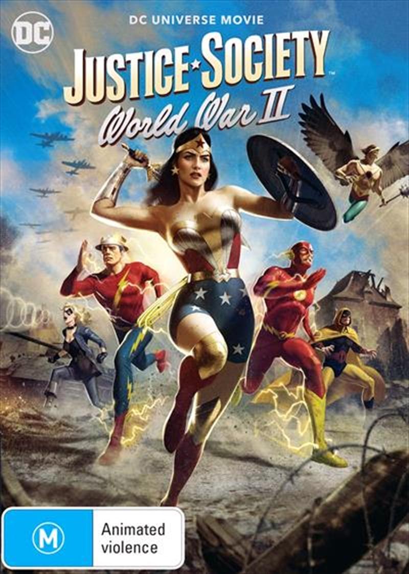 Justice Society - World War II | DVD