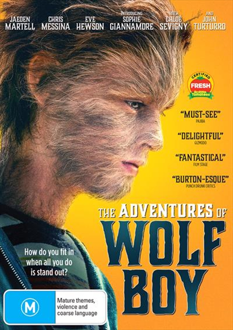 Adventures Of Wolfboy, The   DVD