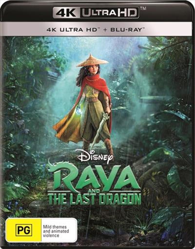 Raya And The Last Dragon   Blu-ray + UHD   UHD