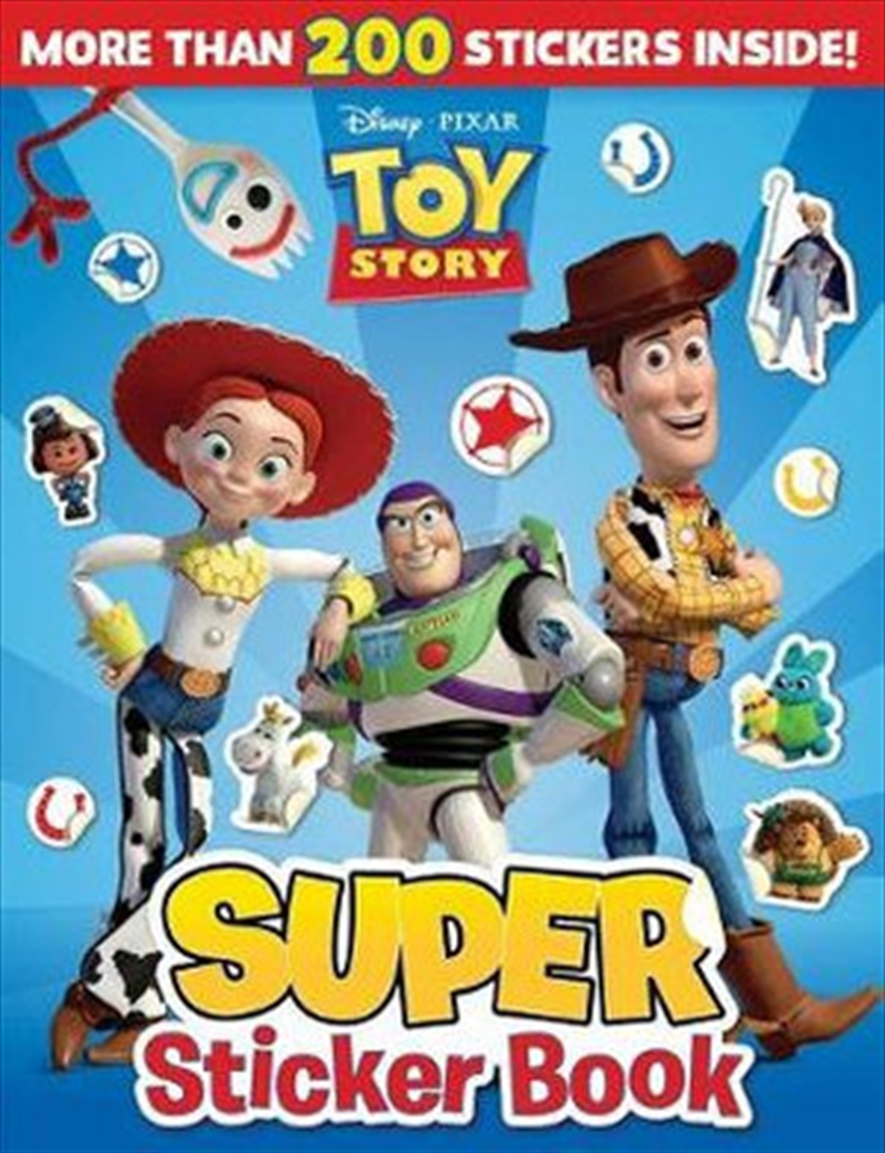 Toy Story Super Sticker Book   Paperback Book