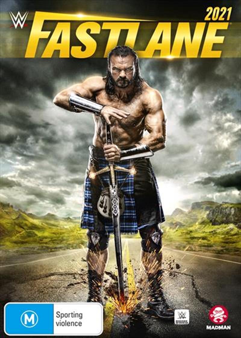 WWE - Fast Lane 2021   DVD