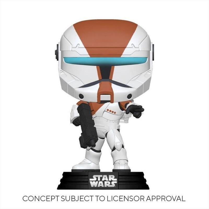Star Wars: Republic Commando - Boss Glow US Exclusive Pop! Vinyl [RS] | Pop Vinyl