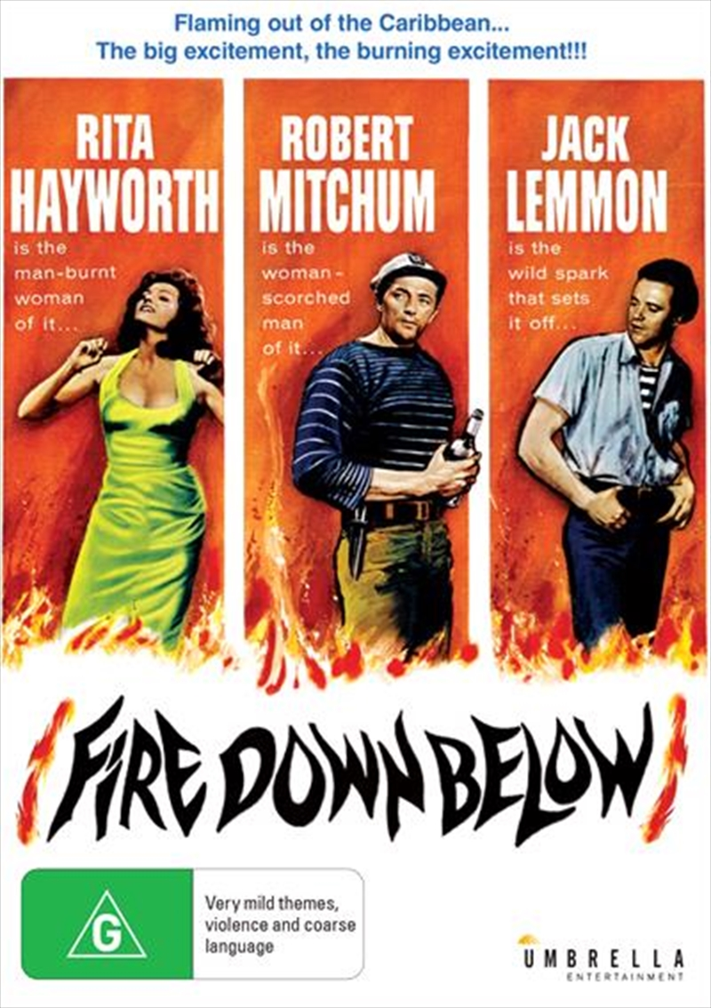 Fire Down Below | DVD