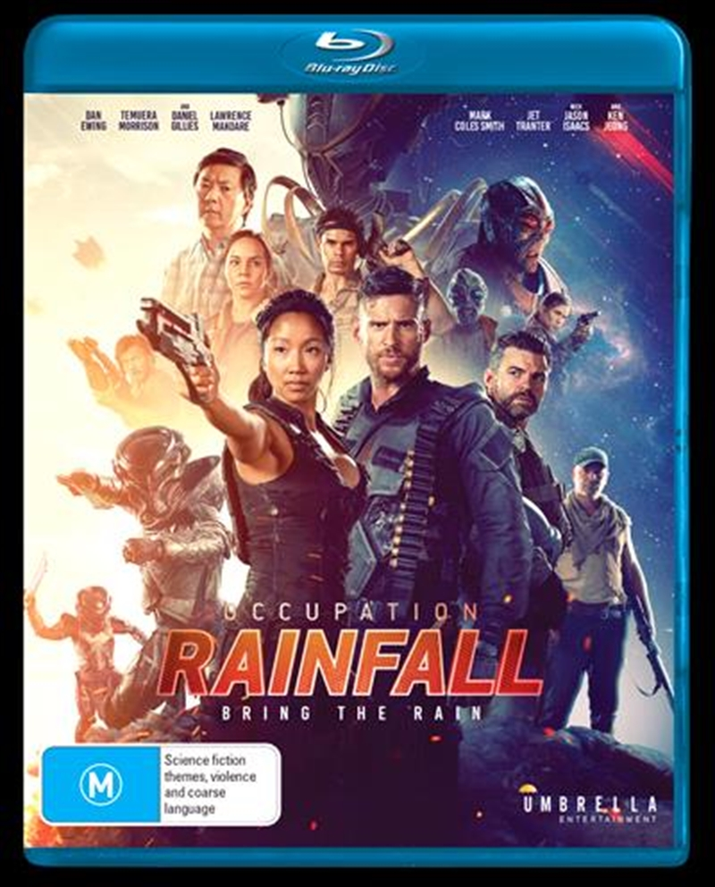 Occupation - Rainfall   Blu-ray
