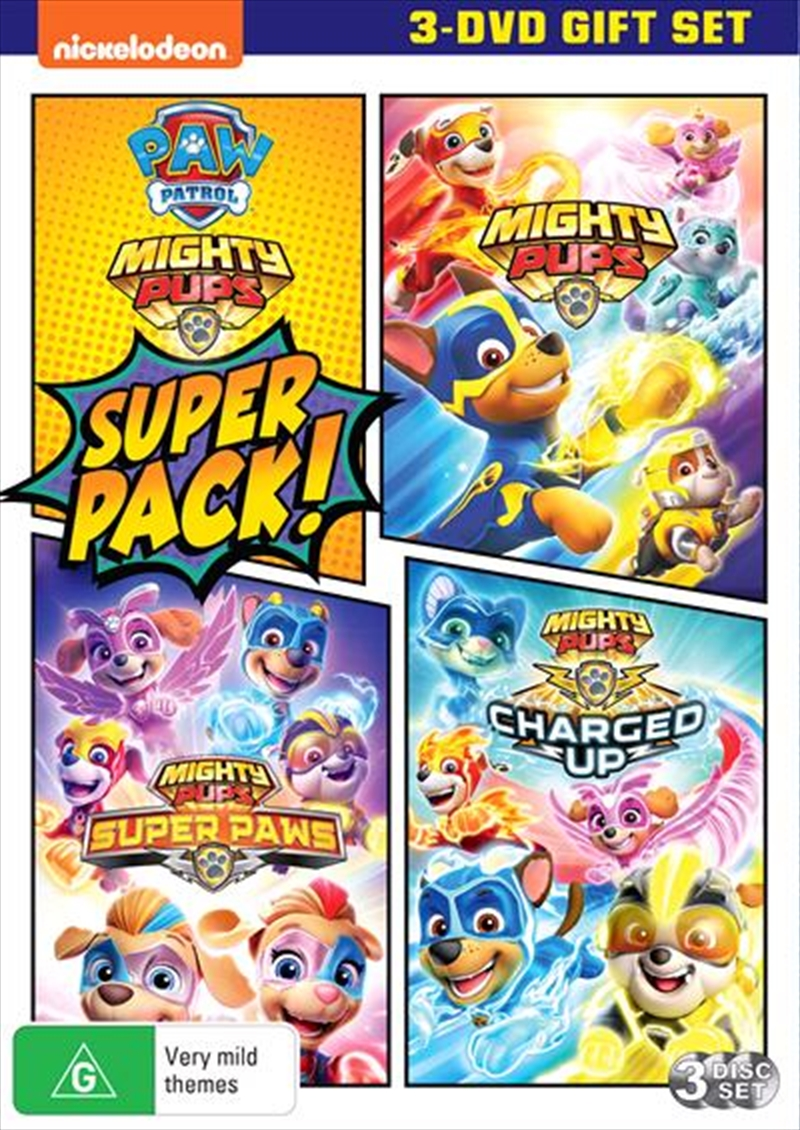 Paw Patrol | Mighty Pups Super Pack | DVD