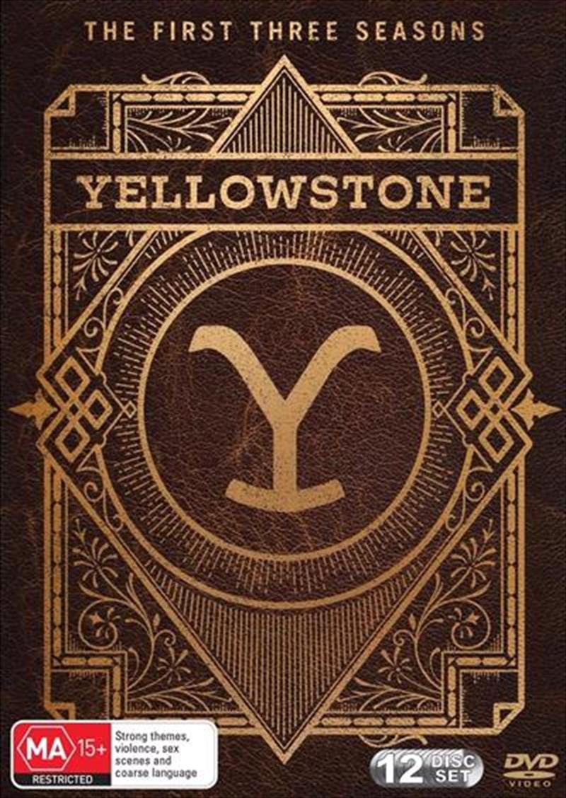 Yellowstone - Season 1-3 | DVD
