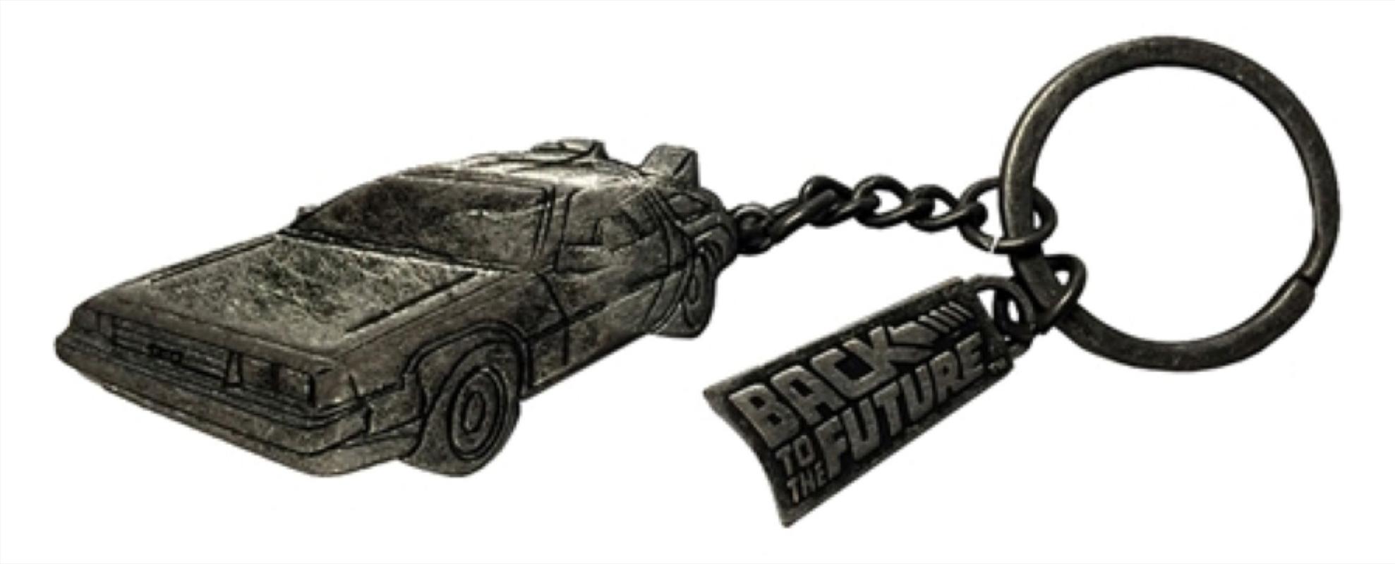 Back to the Future - Delorean Keychain | Accessories
