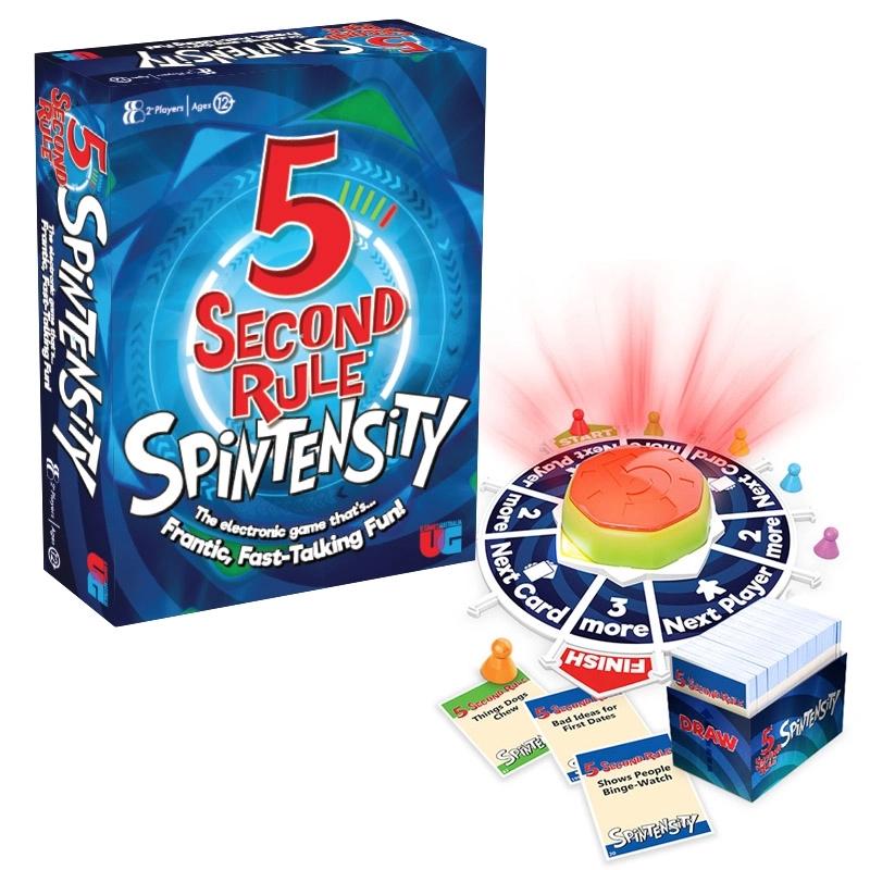 5 Second Rule Spintensity | Merchandise