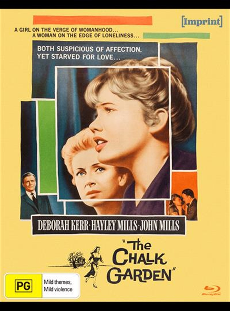 Chalk Garden   Imprint Collection 43, The   Blu-ray