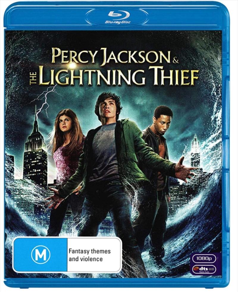 Percy Jackson And The Lightning Thief | Blu-ray