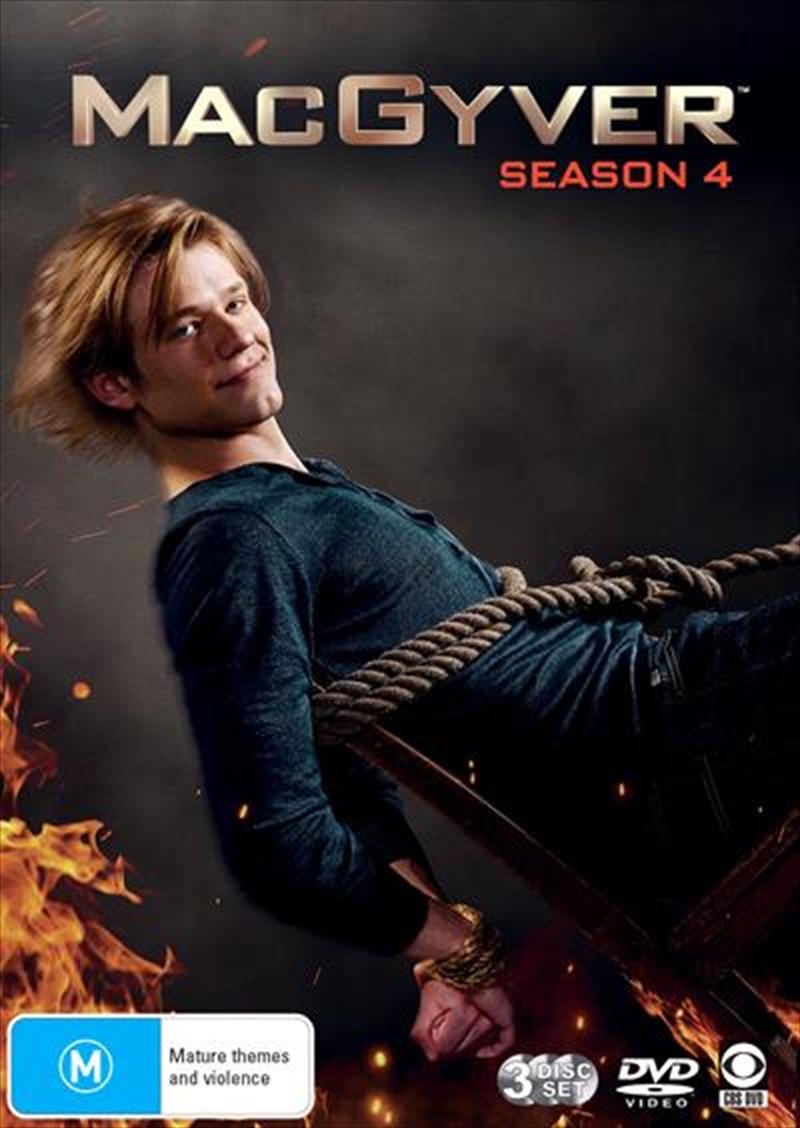MacGyver - Season 4 | DVD