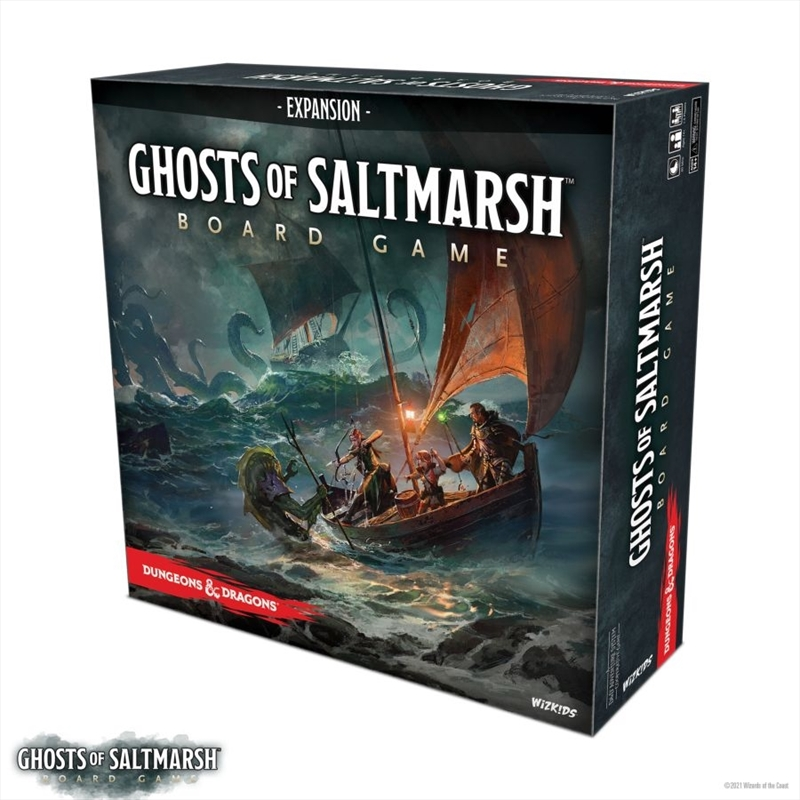 Dungeons & Dragons - Ghosts of Saltmarch Standard Board Game   Games