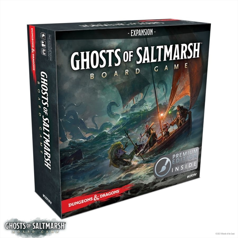 Dungeons & Dragons - Ghosts of Saltmarch Premium Board Game   Games