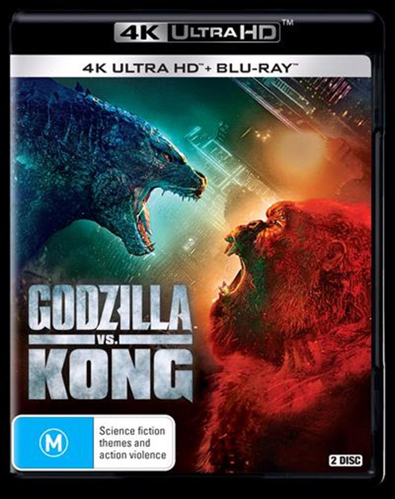 Godzilla Vs. Kong   Blu-ray + UHD   UHD